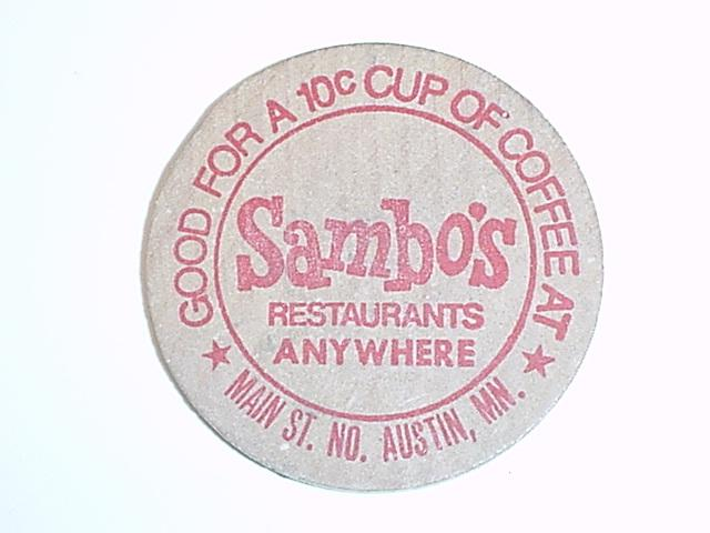 Good For A 10c Cup Of Coffee At Sambos Restaurants Anywhere